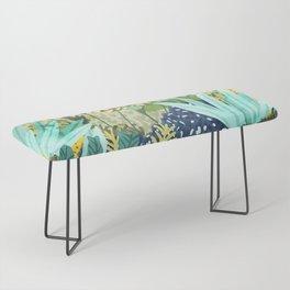 Wild Jungle    #illustration #painting Bench