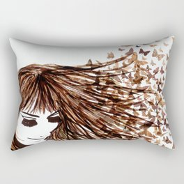 You Give Me Butterflies Rectangular Pillow