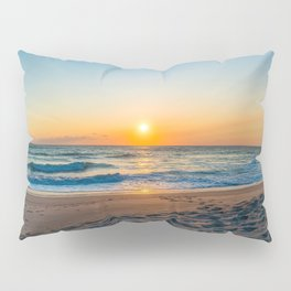 Canaveral National Seashore Sunrise Pillow Sham
