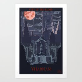 City of the Blood Art Print