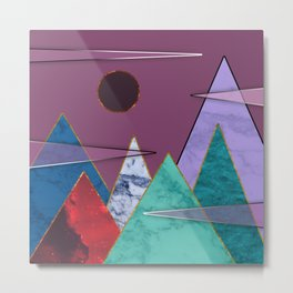 Abstract #405 Metal Print