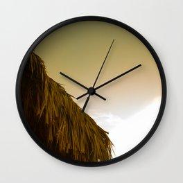 BUNGALOW ROOF II Wall Clock