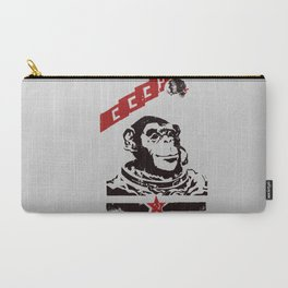 Soviet Space Monkey Carry-All Pouch