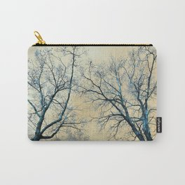 Trees nature infrared landscape Carry-All Pouch