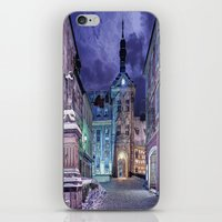 gotham iPhone & iPod Skins featuring Gotham by Robin Curtiss