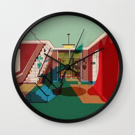 Room For Rent Wall Clock