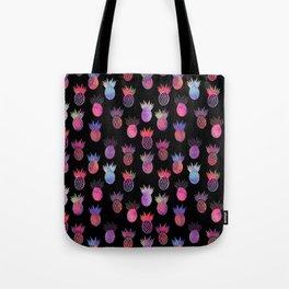 Tutti Frutti Black Tote Bag