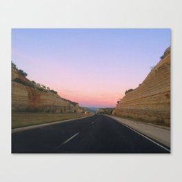 SW Sunrise Canvas Print