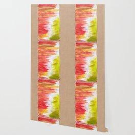 Color Wash Aztec Rug Wallpaper
