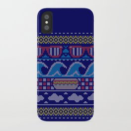 Ugly Summer Sweater iPhone Case