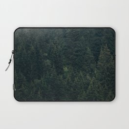 Mystic Pines - A Forest in the Fog Laptop Sleeve