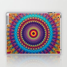 Fire and Ice Mandala Laptop & iPad Skin