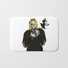 Study of a shadow (K.Cobain) Bath Mat