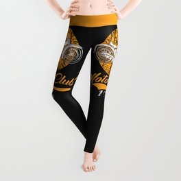 THE MOTORCYCLE SUPPLY co - MOTOR CLUB by ANIMOX Leggings