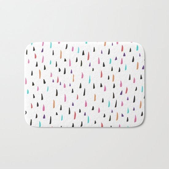 spiky tips Bath Mat