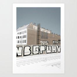 Markgrafendamm Art Print