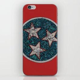 Tennessee flag iPhone Skin