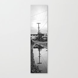 Electric Post Canvas Print