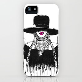 Flippin The Bird Formation iPhone Case