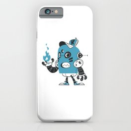 Fire Robot iPhone Case