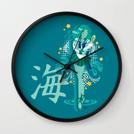 Soldier of the Sea & Embrace Wall Clock
