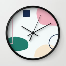 Going to be happy Wall Clock