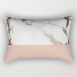 Marble Nude Rectangular Pillow