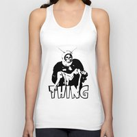 the thing Tank Tops featuring THING by Taylor Bissett