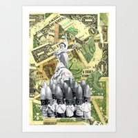 It's A Cruel World, Money For This, But Not For That Art Print