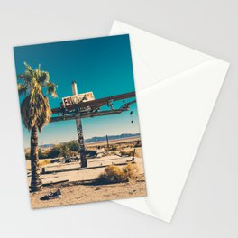 Gass Station Stationery Cards