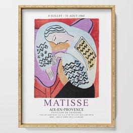 Matisse Exhibition - Aix-en-Provence - The Dream Artwork Serving Tray