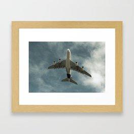 Airbus A380 1020 Framed Art Print
