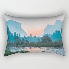 Pastel Yosemite #society6 #buyart Rectangular Pillow