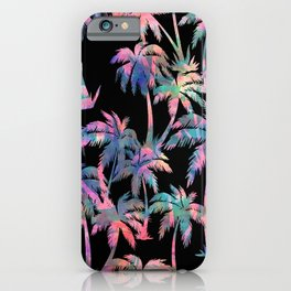 Maui Palm {Black} iPhone Case