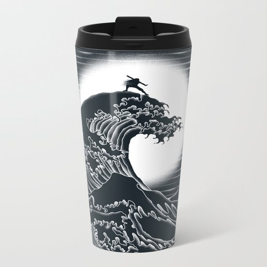 Waterbending Metal Travel Mug