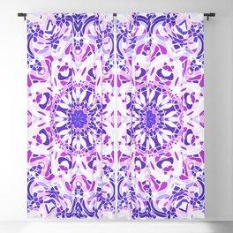 Violet Embrace Mandala Blackout Curtain