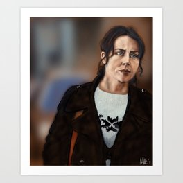 Sarah Lund Art Print
