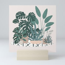 houseplant gang Mini Art Print