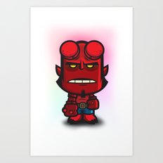 Devil Boy Art Print