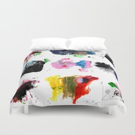9 abstract rituals (2) Duvet Cover