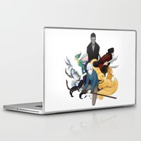 guardians Laptop & iPad Skins featuring The Guardians by Kiell R.