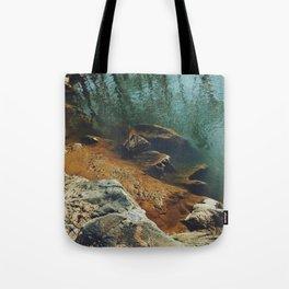 Orange Shore Tote Bag