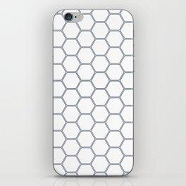 Honeycomb Navy #278 iPhone Skin
