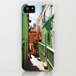 Guanajuato sidestreets iPhone Case