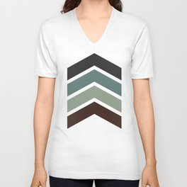 Chevron Unisex V-Neck