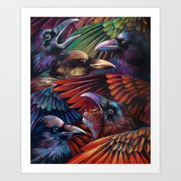 One of the Gang Art Print