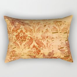 Vintage Ephemera 2 Rectangular Pillow