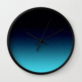Celestial Dusk Wall Clock