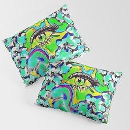 love of the tranquility flower forest pop-art Pillow Sham