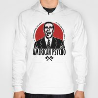american psycho Hoodies featuring American psycho v2 by Buby87